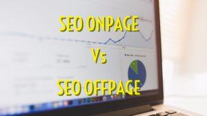 imatge sobre el seo onpage versus el seo offpage